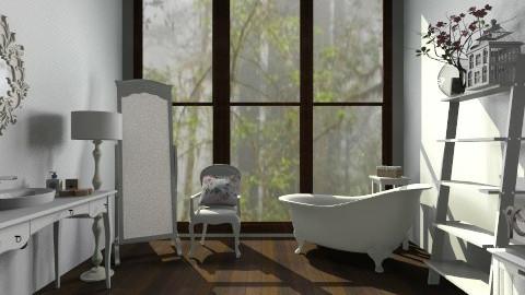 vintage bathroom - Vintage - Bathroom - by cheekyweirdo