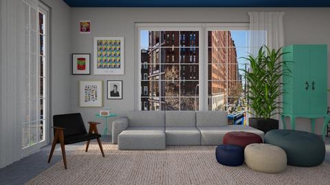 Maximalist Livingroom - Retro - Living room - by tolo13lolo