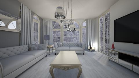 t - Living room - by Karolina Banasiewicz
