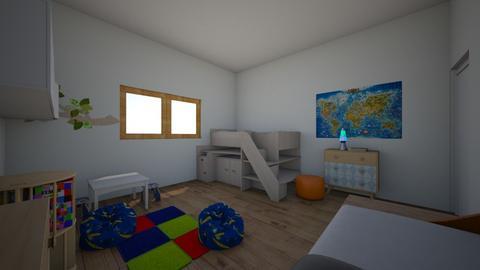 Design Process 2 - Kids room - by Sharna80