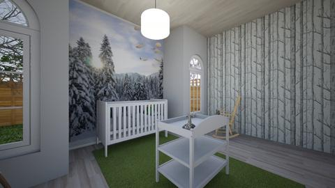 Baby Alpine - Kids room - by Nikki Lipstick