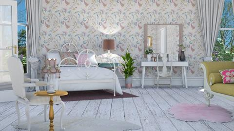 Shabby Chic Bedroom - Bedroom - by lovedsign