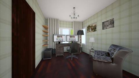 Mark study - Retro - Office - by Olga Tyym