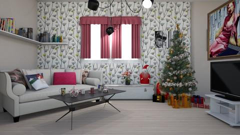 Christmas - Classic - Living room - by colorful_eye