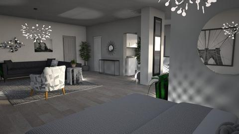 Grey Apartment 1 - by millerfam