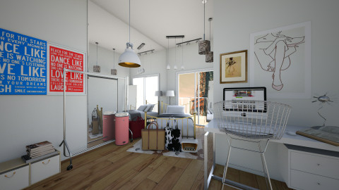Dancer Dorm Apartment - by Sunny Bunny