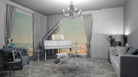 piano room - by cuneyt oznur