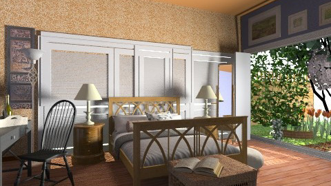 Afternoon - Country - Bedroom - by hetregent