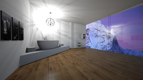 mountain bathroom  - Modern - Bathroom - by love room