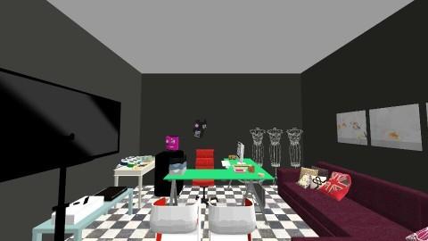fantasy factory office - Retro - Office - by Lauren Deering