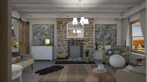 Crofters cottage - Country - Living room - by augustmoon
