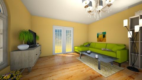 2 - Living room - by haneczka