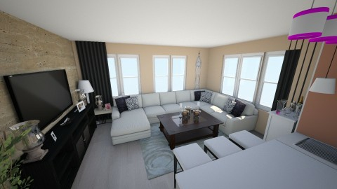 Kreadas live from kitch - Living room - by sulks1241