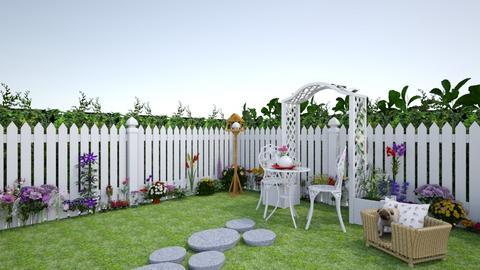Spring - Garden - by creato