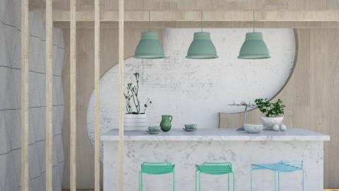 Island - Kitchen - by Liu Kovac