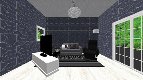 my brothers creation - Living room - by Asa56678