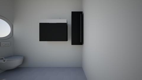 White House BATHROOM - Modern - Bathroom - by AkBarnett