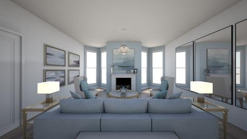 Contemporary Sitting Room - Glamour - Living room - by whoshroy