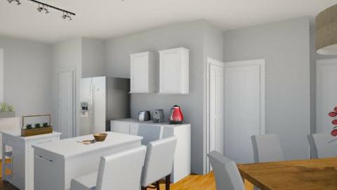 Notre maison 2012  3 - Modern - Kitchen - by Yellow Moon Design