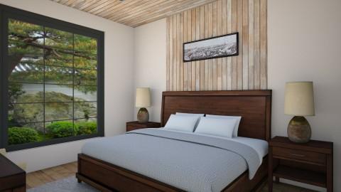 Masters Bedroom - Bedroom - by cervidaeus