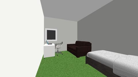 Mees voetbalslaapkamer - Bedroom - by magchelina