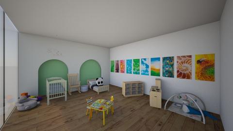 Green House Babies Room - Kids room - by Ellzbee