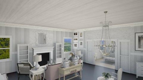 French Master Bedroom - Glamour - Bedroom - by DiamondJ569