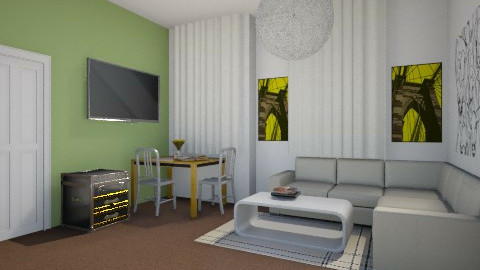 project 1 - Living room - by Desmonde Monroe