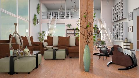 Mezzanine - Living room - by ZuzanaDesign