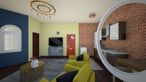 small apartmant - Living room - by hannanex