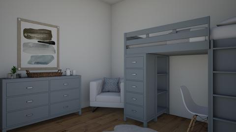boys bedroom - Bedroom - by copperkettle