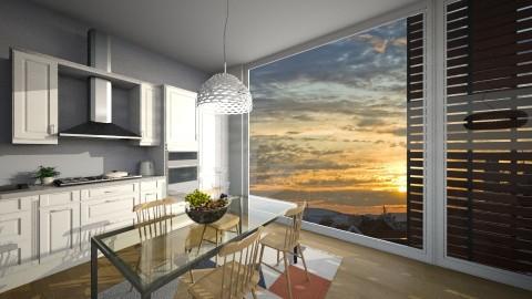 Roof garden apt - Living room - by IIreneII