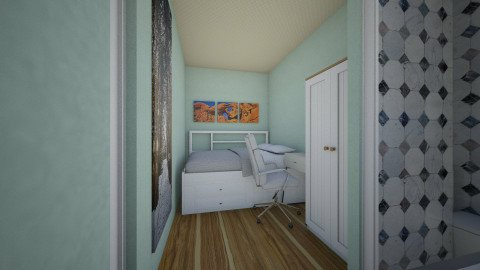 Tiny Au Pair Appartment - Minimal - Bedroom - by ANM_975