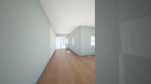living room blue - by jds0912