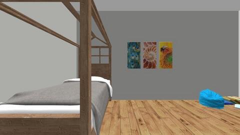 house 2 - Kids room - by falkeoplinus