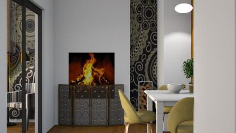 Hall 3 - Modern - Dining room - by Jessica Fox
