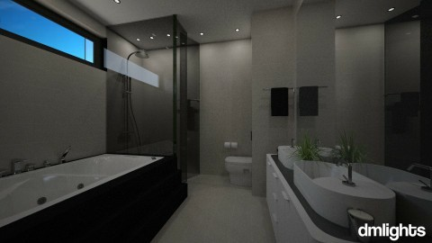 hotel 2 - Bathroom - by DMLights-user-1133665