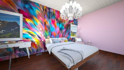 eclectic bedroom - Eclectic - Bedroom - by R A I N A