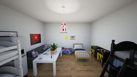 24 hours challenge  - Global - Bedroom - by bortholf