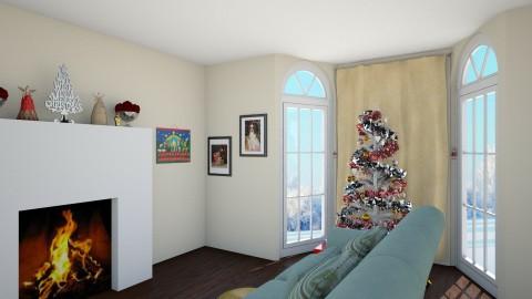 Christmas Room - Living room - by ahamm42