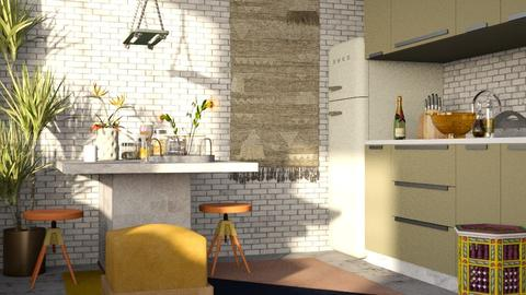 interior_cocina - Modern - Kitchen - by jjannnii