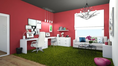 Home Office for Kelly - Office - by dianemonton11