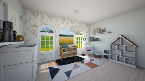 Sheep Nursery - Kids room - by guinealove4
