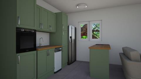 Dana kitchen - Kitchen - by Goni_Agmon