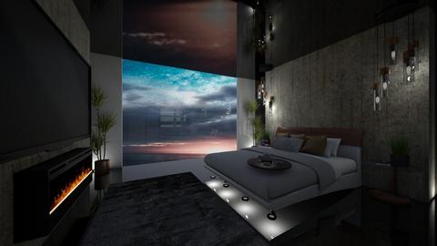 Jimins Guest Room - Modern - Bedroom - by FabulousGirl35