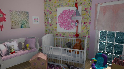 baby girl - Kids room - by Amyy