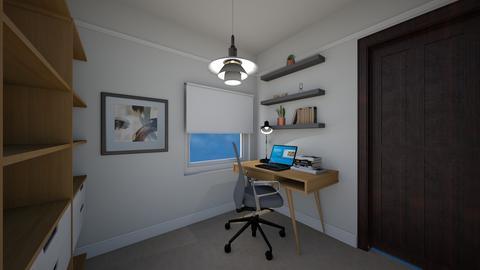 AV Tong office - Office - by hwhomedesign