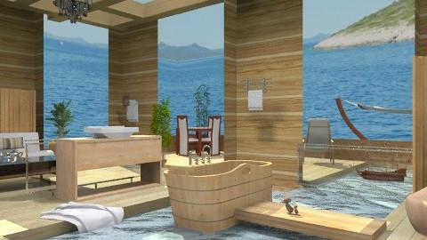 Just naturally!_2 - Modern - Bathroom - by milyca8