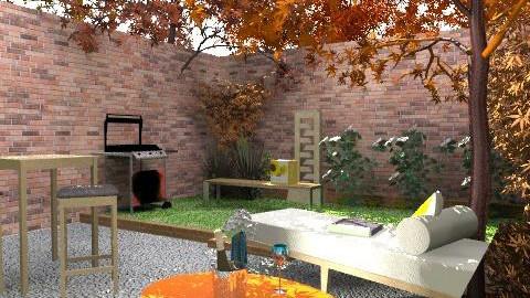 brooklyns house/garden6 - Retro - Kitchen - by kadee1111