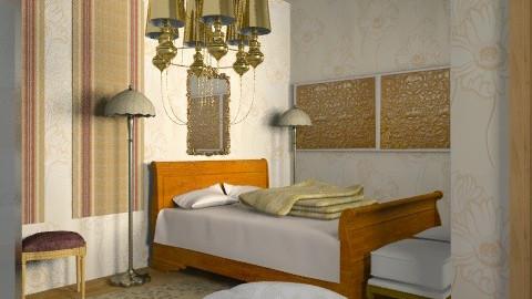 Rustic bedroom 2 - Classic - Bedroom - by ioanavladut7
